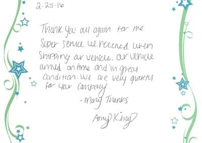 Amy King - Testimonial