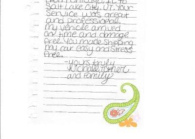 Michelle Turner - Testimonial