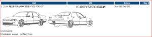 SSR Logistics Auto Shipping BOL